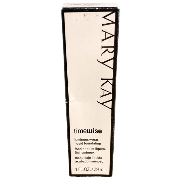 Mary Kay TimeWise Luminous Wear Foundation Ivory 2